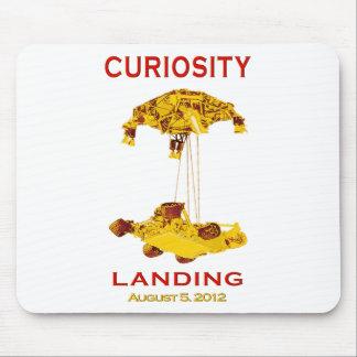 Curiosity Rover Landing (EDL) Team Logo Mouse Pad