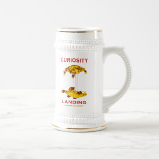 Curiosity Rover Landing (EDL) Team Logo Mugs