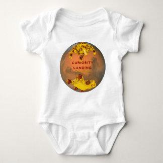 Curiosity Rover Landing Team Logo Baby Bodysuit