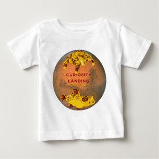 Curiosity Rover Landing Team Logo Baby T-Shirt