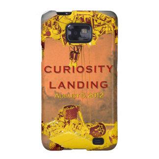 Curiosity Rover Landing Team Logo Samsung Galaxy SII Case