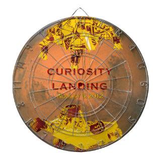 Curiosity Rover Landing Team Logo Dartboard