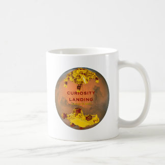 Curiosity Rover Landing Team Logo Mug