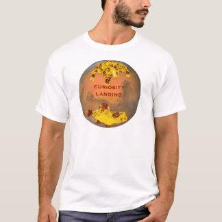 Curiosity Rover Landing Team Logo T-Shirt
