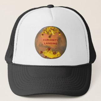 Curiosity Rover Landing Team Logo Trucker Hat