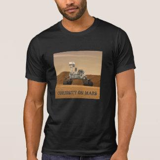 Curiosity Rover on Mars Shirts