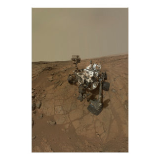 Curiosity Rover Posters