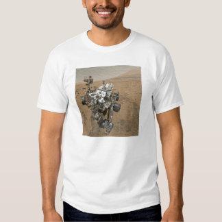 Curiosity Rover Selfie on Mars T Shirt