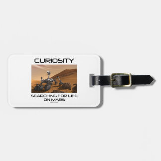 Curiosity Searching For Life On Mars (Mars Rover) Bag Tag