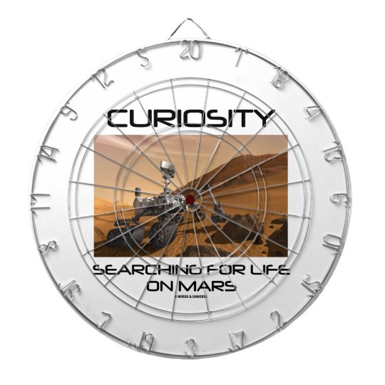 Curiosity Searching For Life On Mars (Mars Rover) Dart Board