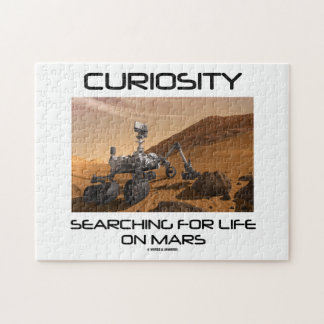 Curiosity Searching For Life On Mars (Mars Rover) Jigsaw Puzzle