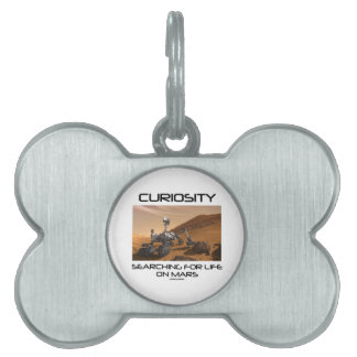 Curiosity Searching For Life On Mars (Mars Rover) Pet Name Tags