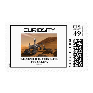 Curiosity Searching For Life On Mars (Mars Rover) Stamp