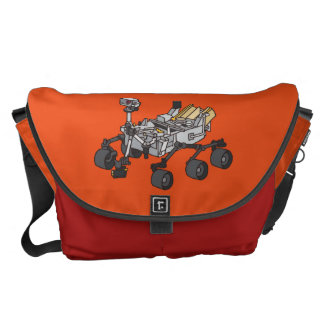 Curiosity, the Marsrover Messenger Bag