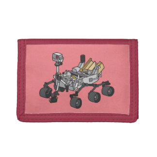 Curiosity, the Marsrover Trifold Wallet