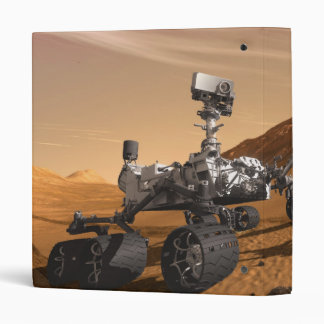 Curiosity: The Next Mars Rover 3 Ring Binder