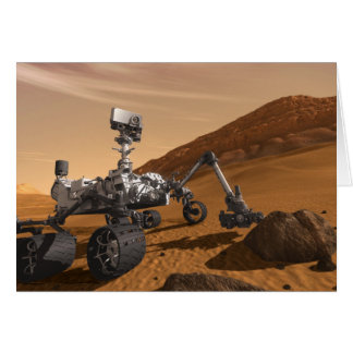 Curiosity: The Next Mars Rover Card
