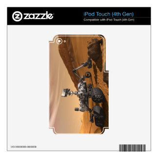Curiosity: The Next Mars Rover iPod Touch 4G Skins