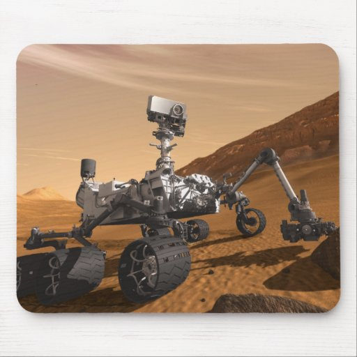 Curiosity: The Next Mars Rover Mouse Pad