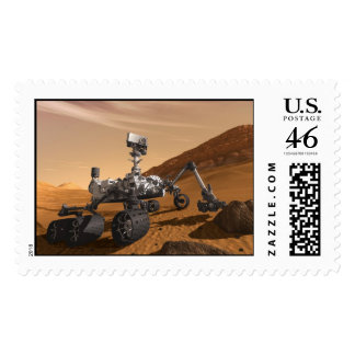 Curiosity The Next Mars Rover Postage Stamps