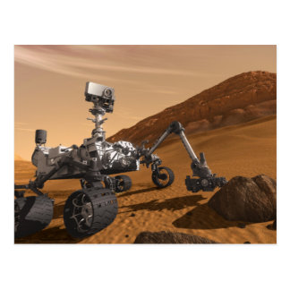 Curiosity: The Next Mars Rover Postcard