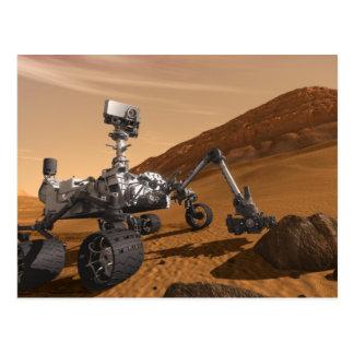 Curiosity: The Next Mars Rover Postcard