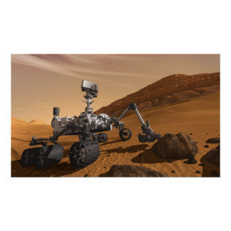 Curiosity: The Next Mars Rover Poster
