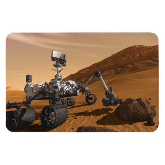 Curiosity: The Next Mars Rover Flexible Magnet