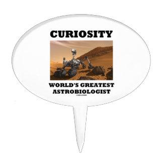 Curiosity World's Greatest Astrobiologist (Rover) Cake Picks