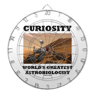 Curiosity World's Greatest Astrobiologist (Rover) Dartboard With Darts