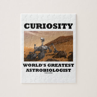 Curiosity World's Greatest Astrobiologist (Rover) Jigsaw Puzzle