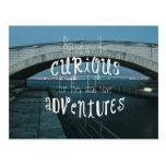 Curioso bendecida puente tendrán aventuras postales