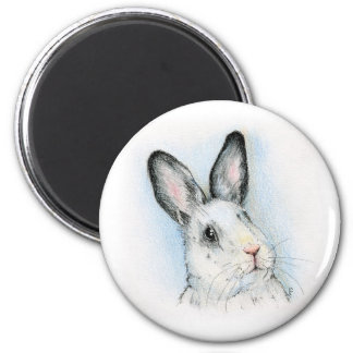 Curious 2 Inch Round Magnet