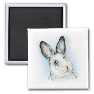 Curious 2 Inch Square Magnet