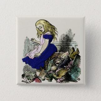 Curious Alice ~ Button