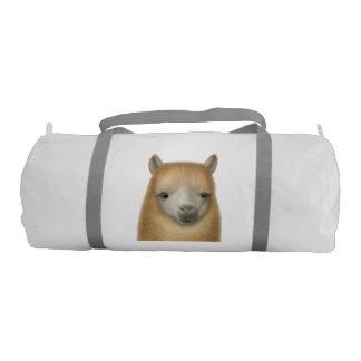 Curious Alpaca Gym Duffle Bag