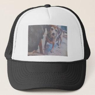 Curious Beagle Trucker Hat
