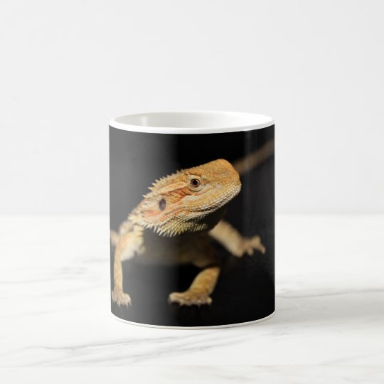 Curious Bearded Dragon Coffee Mug