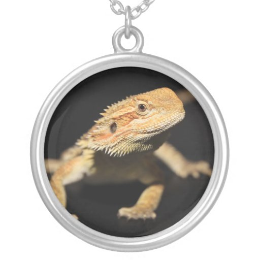 Curious Bearded Dragon Necklace
