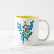 Curious blue Scorchio mugs