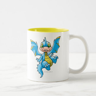 Curious blue Scorchio Two-Tone Coffee Mug