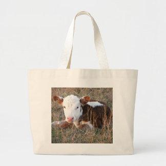 Curious Calf duffel bag