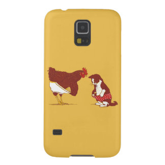 CURIOUS CAT AND CHOOK Samsung Galaxy S5 Case