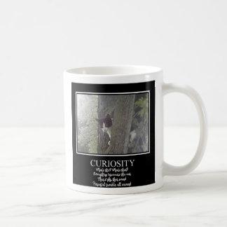 Curious Cat Coffee Mugs