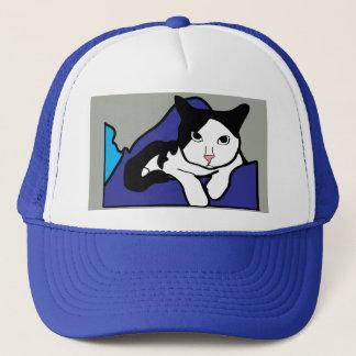 Curious Cat Trucker Hat