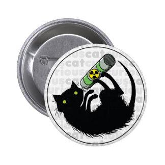 Curious Cat with Uranium Button