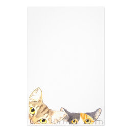 Curious Cats Stationery