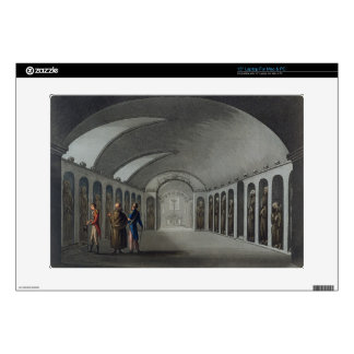 """Curious Cemetery under the Capuchin Monastery, nea Decal For 15"""" Laptop"""
