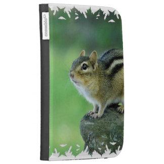 Curious Chipmunk  Kindle Case