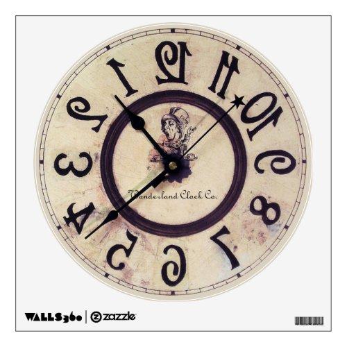 Curious Clock 1 Wall Decal
